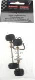 Carrera Digital 132 89577 Vorder- und Hinterachse 30567