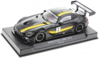 NSR Fahrzeuge 800098AW Mercedes-AMG GT3 Test Car Black #2