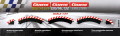 Carrera Evolution + Digital 132 / 124 20561 Außenrandstr. Kurve 1/60°, 3 Stück + 2 Endstücke