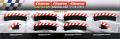 Carrera Evolution + Digital 132 / 124 20562 Außenrandstr. Kurve 2/30°, 6 Stück