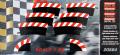 Carrera Evolution + Digital 132 / 124 20564 Außenrandstr. Steilkurve 1/30°, 6 Stück + 2 Endstücke