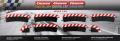 Carrera Evolution + Digital 132 / 124 20565 Außenrandstr. Steilkurve 2/30°, 6 Stück + 2 Endstücke