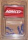 Ninco Ersatzteile-Antrieb 180209 Stoßdämpfer Medium Blau (VE4)