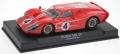 NSR Fahrzeuge 801163SW Ford MK IV Limited Edition #4 Red, SW Shark 20k